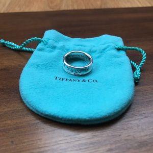 TIFFANY & CO. 1837 Ring - Size 7.5